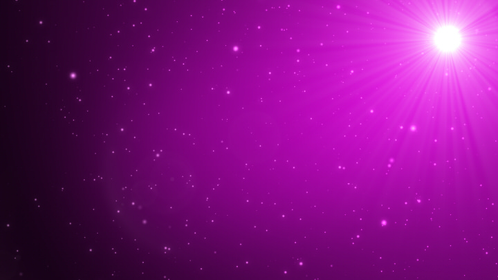 Purple Light Particles