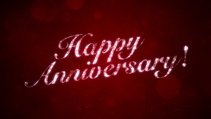 Happy Anniversary on Red