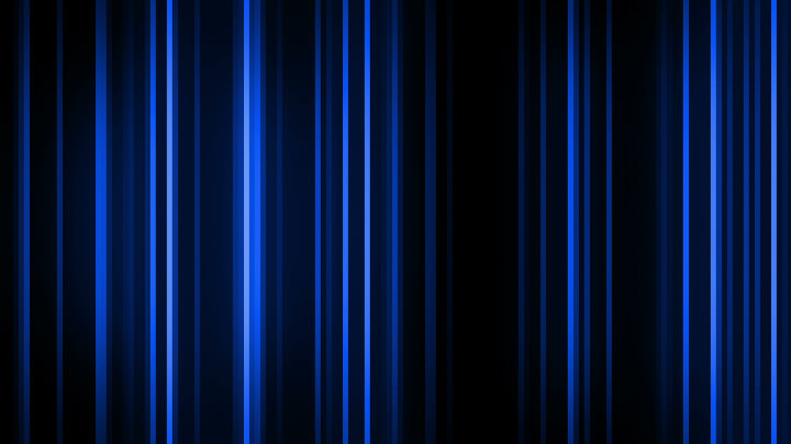 Blue Vertical Light Streaks