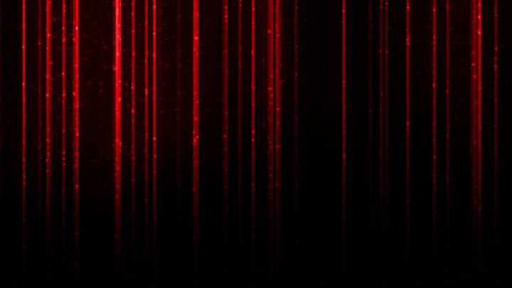 Red Vertical Light Particles