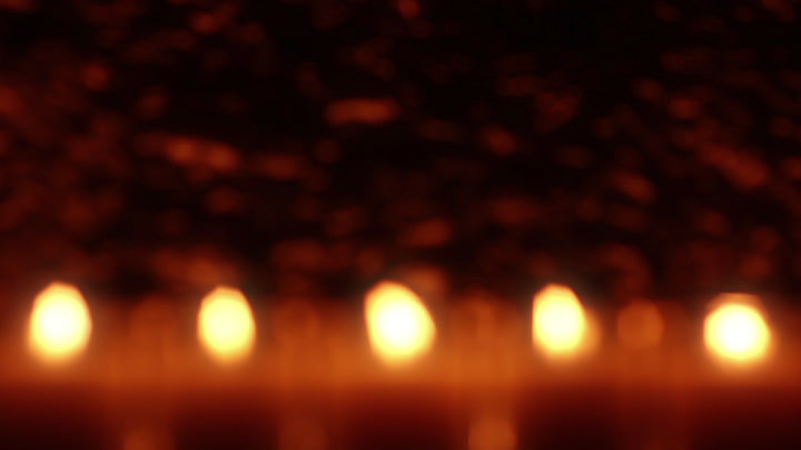 Defocused Votive Candles