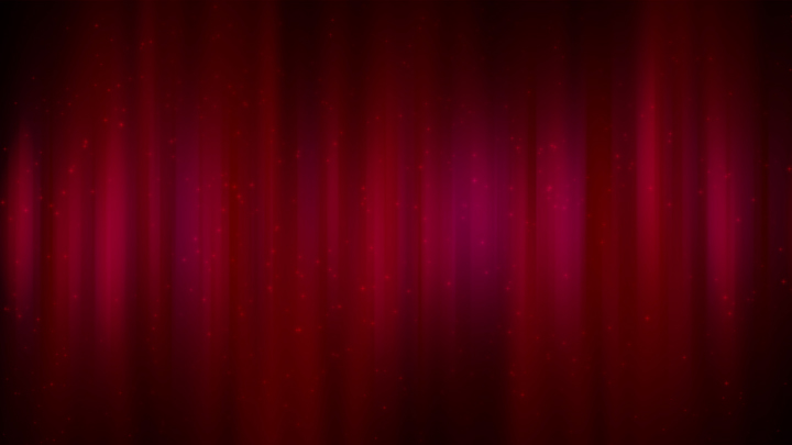 Soft Red Curtain