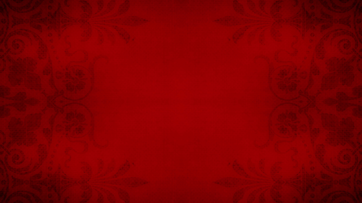 Red Victorian Damask